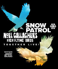 Noel Gallagher's High Flying Birds Release Live DVD, Get Ready To Kick Off Tour
