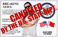 Andrew W.K. Issues Official Statement As U.S. State Dept. Cancels Middle East Ambassador Trip