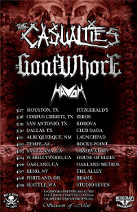 The Casualties Announce U.S. Headlining Dates