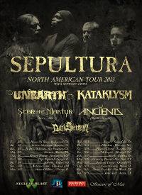 Anciients Announce New Tour Dates With Sepultura
