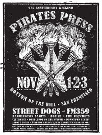 Pirates Press Announce 9th Anniversary Celebration