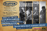"Clutch Offer Free Bonnaroo Download, More Details On ""Beale Street"" Re-Issue"