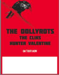The Cliks, Hunter Valentine Join Forces With The Dollyrots For The Guts And Glory Tour