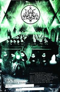 Philadelphia Black Metal Legion Woe Announce West Coast Tour Dates